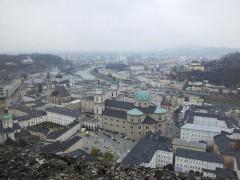 Vista di salisburgo